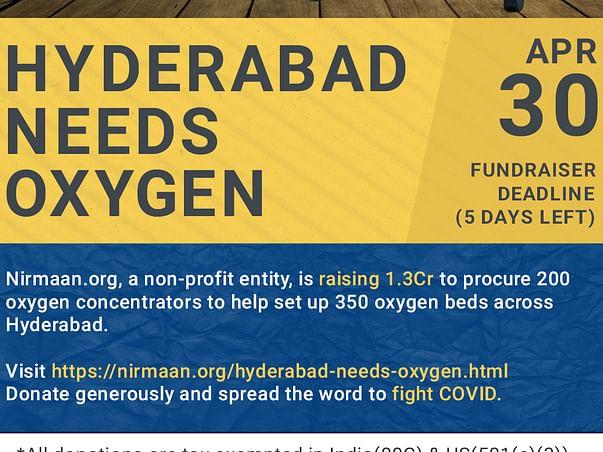 Hyderabad Needs Oxygen