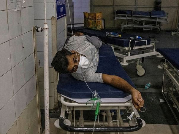 Help to provide oxygen to poor people india SAVE INDIA