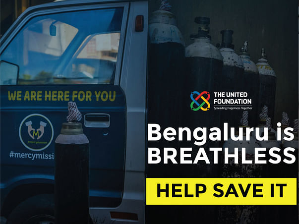 Bengaluru is BREATHLESS! Urgently need O2 Cylinders & Covid Relief!-