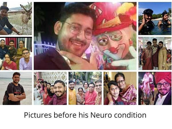 Help My Brother Bidesh Ranjan Roy Recover From Neurological Disorder