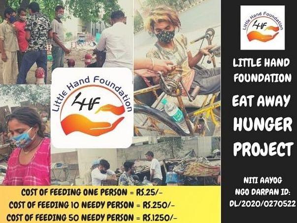 Little Hand Foundation's EAT AWAY HUNGER
