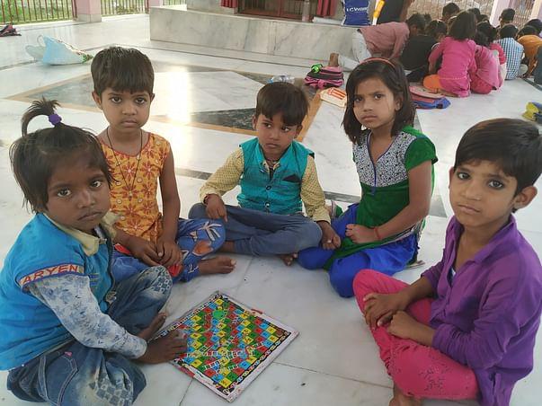 Support Underprivileged Children Of Delhi NCR For Education