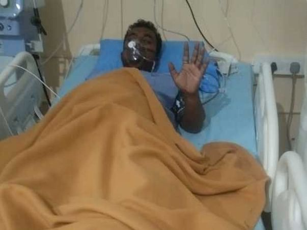 Help My Brother-In-Law Narwttam Biswas Recover From Covid-19 & Lung Infection