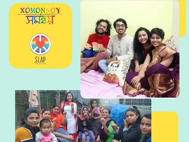 Support Spread Love And Peace & Xomonnoy help young people of Assam