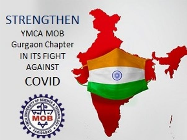 Strengthen YMCA MOB Gurgaon Chapter COVID Fight Efforts