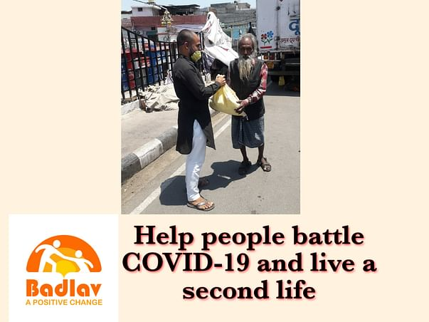 Help people battle COVID-19 and live a second life