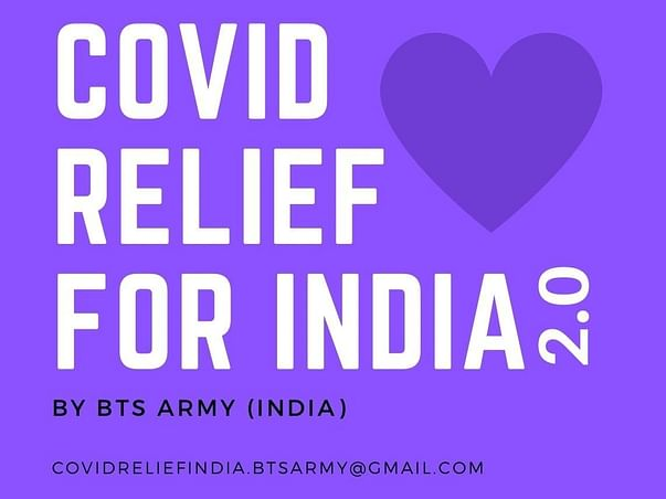 Covid Relief India 2.0 by BTS ARMY