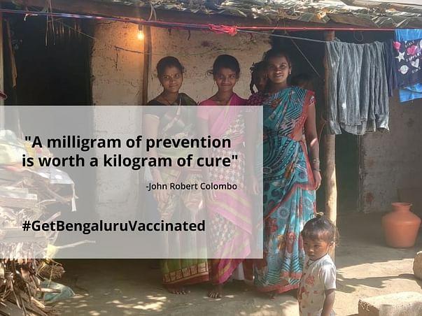 Help us reach vaccination to communities via MCCC