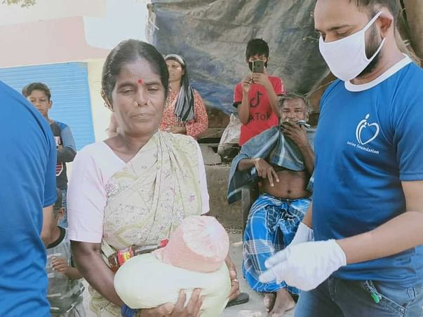 Help 5000 poor families for ration and groceries