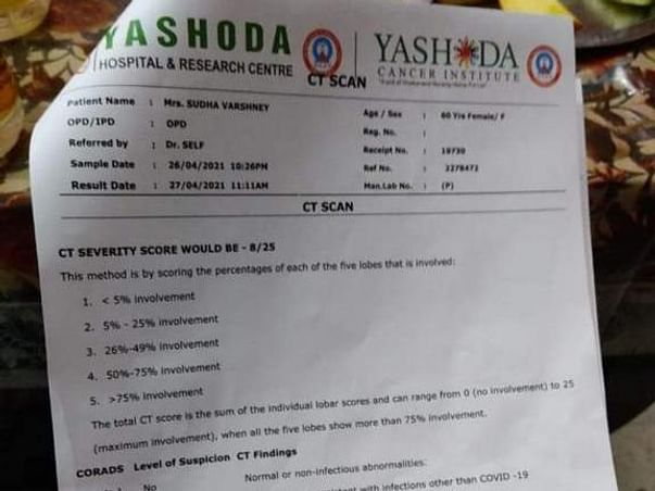 Help Mrs. Sudha Varshney fight Covid