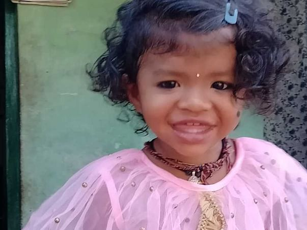 Help My 2-Years-Old Daughter Gaushik Recover From Paralysis & Brain Stroke