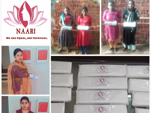 HELP NAARI RAISE FUNDS FOR SANITARY PRODUCTS