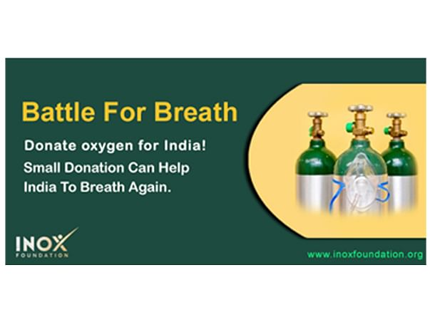 Join hands with Inox Foundation to Raise funds for Oxygen Cylinders