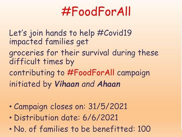 #FoodForAll