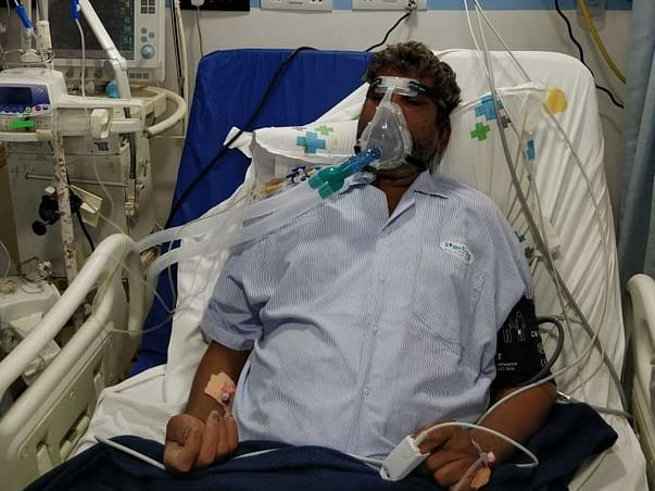 52 Years Old Khimjibhai Needs Your Help Fight Sars Cov-2 (Covid-19)
