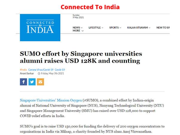 Singapore Universities Mission Oxygen (SUMO)