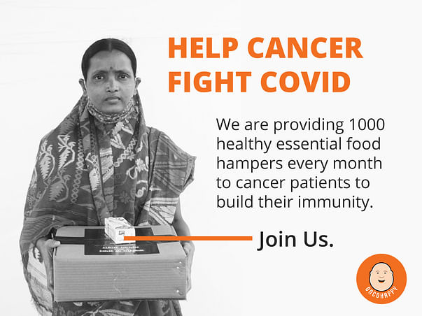 Support OncoHappy To Help Cancer Fight Covid