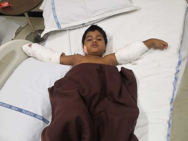3 years old kotturu Athwik needs your help fight Blood Cancer