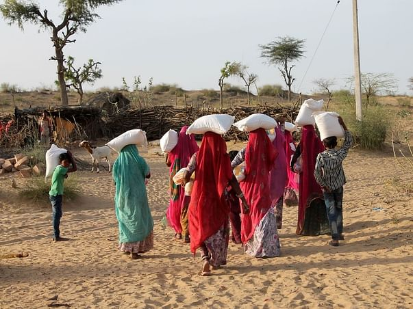 Donate to help women in Rajasthan severely impacted by COVID-19 crisis