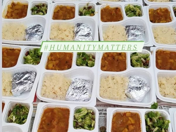 Humanity Matters Covid food relief