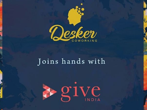 India Fighting Against COVID-19 I Desker CoWorking x Give India