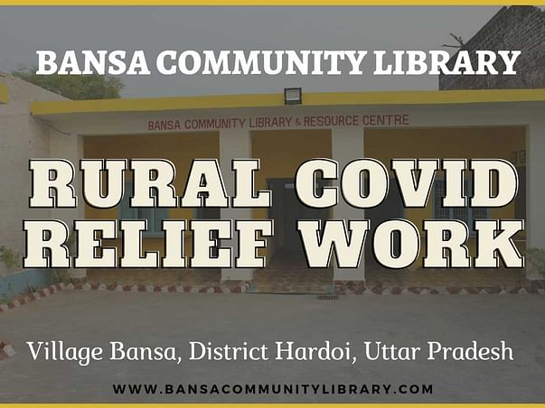 Bansa Community Library Rural Covid Relief Work
