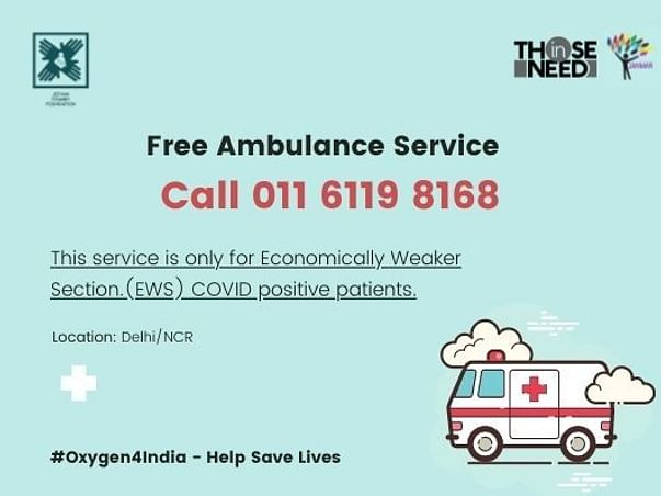 #Oxygen4India – Help Save Lives