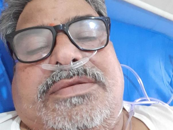 Help My 62-Years-Old Uncle Nirajan Thodeti Recover From Covid-19