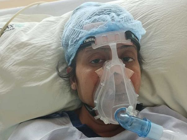 Help Chhaya Jain critical ill patient fighting for life from Covid 19