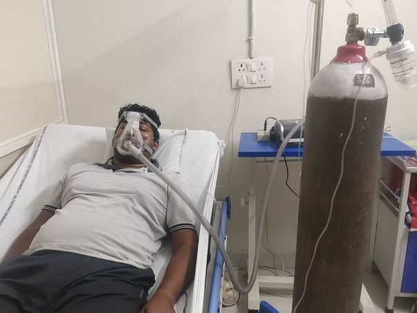 Help to Srikant fight from lungs infection after covid attack..