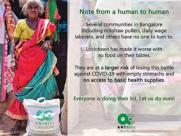 Provide Essentials & Health Supplies to Under-served Communities