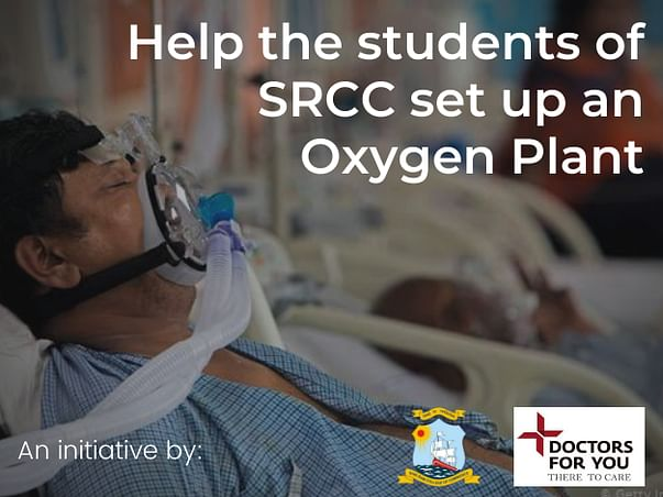 Help the students of SRCC set up an Oxygen Plant at CWG