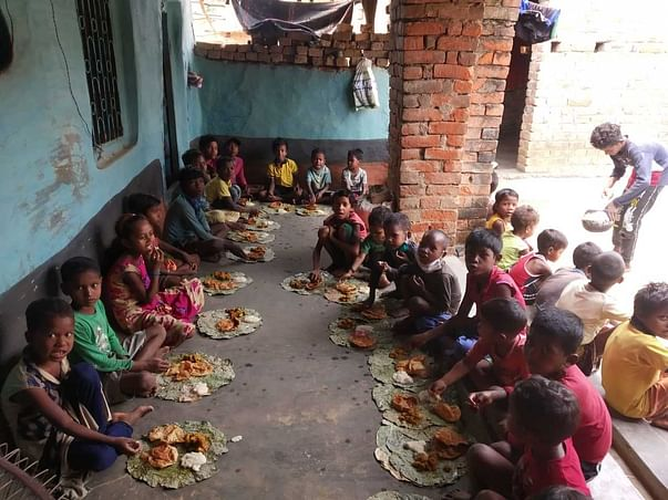 Ensuring food for children from the Musahar Community