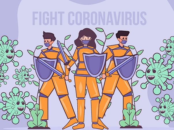 Helping people fight against COVID-19