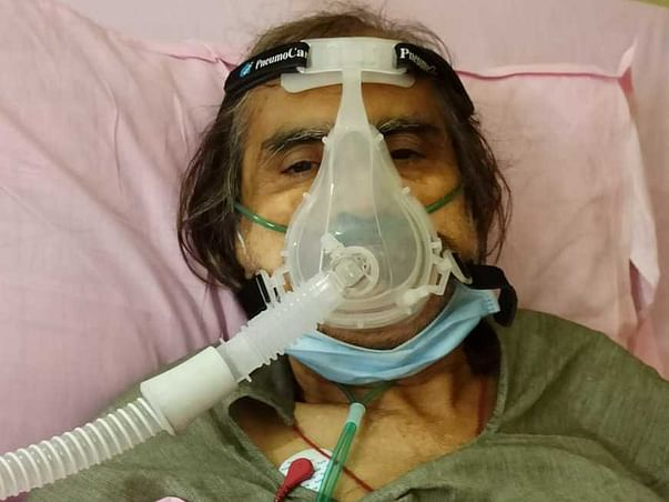 Please Help My Father In Fighting Covid-19.