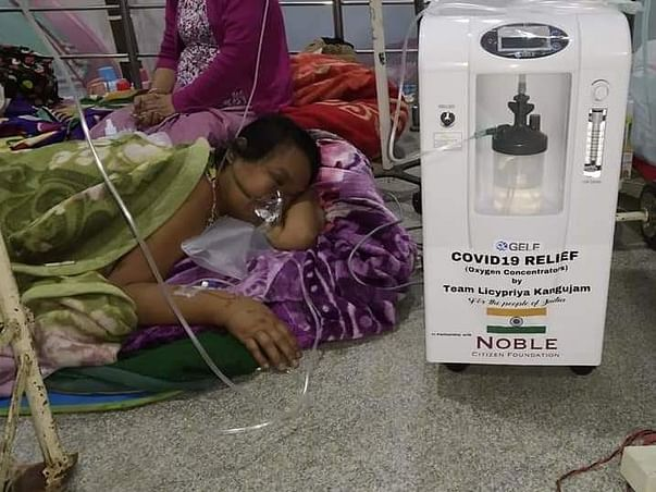 Join hands with Jestin Anthony for COVID Relief in India