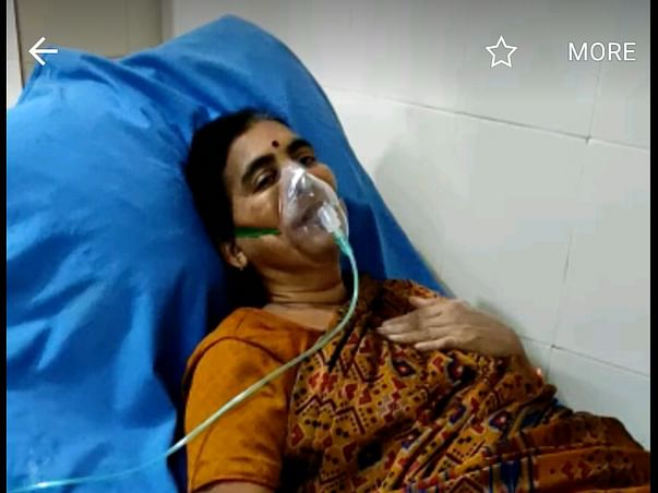 My mother is struggling with Covid positive, Lungs infected severely, help her