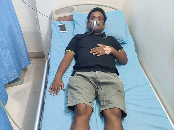 Help Manigandan to Fight Covid and Lung infection
