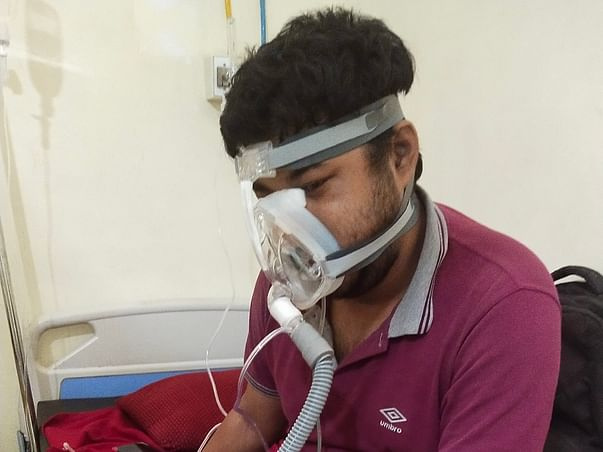 Help Sourav Fight And Recover From Covid