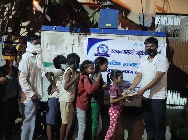 Support Daya Nand Saraswati Education Society To Help Covid Sufferers