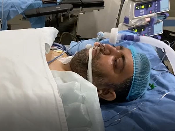 Lung Transplant The Only Ray Of Hope, Help Me To Save My Husband