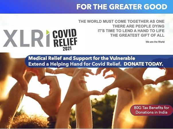 Extend a Helping Hand: XLRI Covid Relief Fund