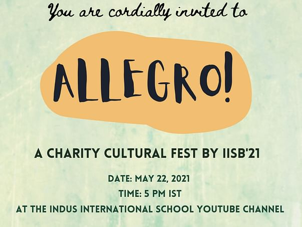 IISB Allegro's Fundraiser for Give India COVID Care Center Initiative