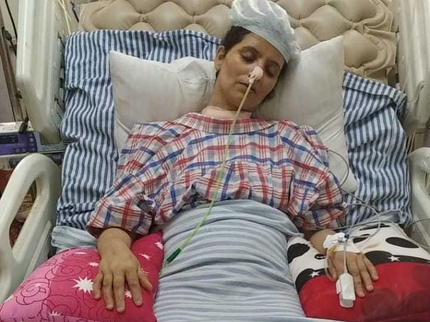 Please Support My Friend Rubeena who is covid +ve and is paralysed.