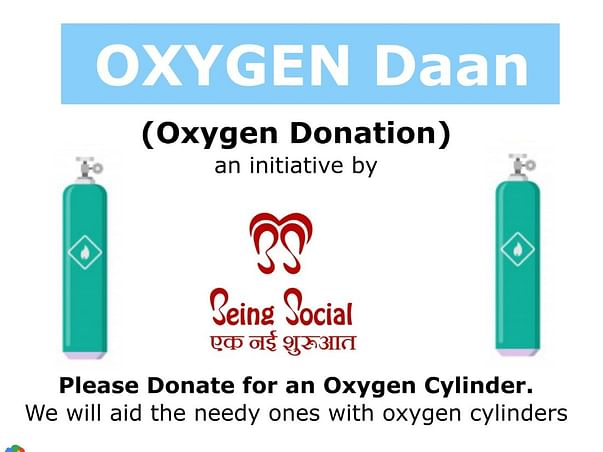Oxygen Cylinder To People In Need