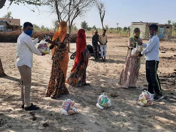 Help the rural people in Rajasthan survive Covid-19