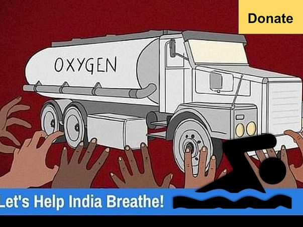 Supporting Swasth procure Oxygen concentrators for India by swimming