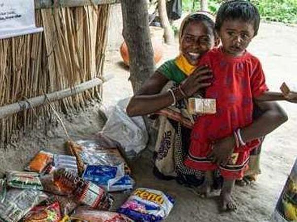 Lockdown Food Drive for Slum Dwellers in Kolkata