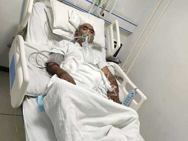 Help My Father to fight Covid & Liver Infection
