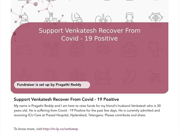 Support Venkatesh Recover From Covid - 19 Positive